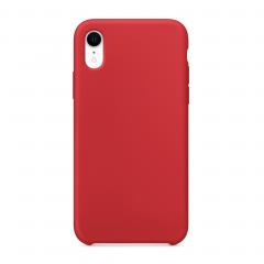 Силиконовый чехол для iPhone XR (Цвет Красный)