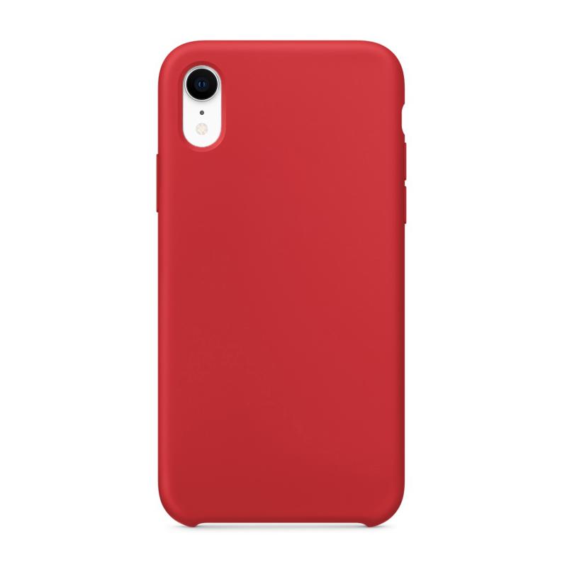 """Чехол на iPhone XR (Цвет """"Красный"""")"""