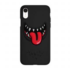 SwitchEasy Monsters для iPhone Xr (Цвет Черный)