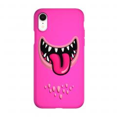 SwitchEasy Monsters для iPhone Xr (Цвет Розовый)