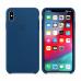 """Чехол Apple Силиконовый на iPhone Xs Max – (Цвет """"Морской Горизонт"""")"""