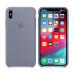 """Apple Силиконовый чехол для iPhone Xs Max (Цвет """"Темная Лаванда"""")"""
