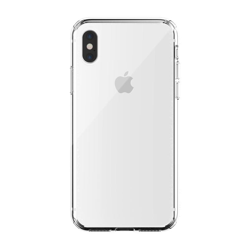 Чехол Just Mobile TENC на iPhone Xs – (Цвет - Прозрачный)